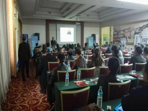 为企网首席专家应邀在江西省铸造协会年会做演讲