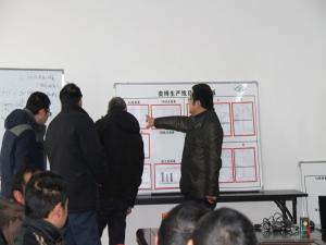 为企网首席专家回访荆州市弈博液压有限公司