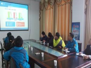 武汉市经信委领导和专家莅临为企网调研
